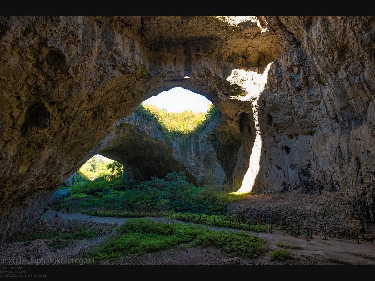 Маршрут по Болгарии. Пещера Деветашка