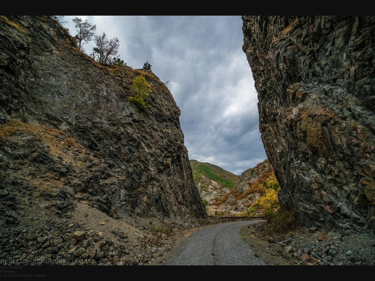 Маршрут по Болгарии. Дорога в Родопах
