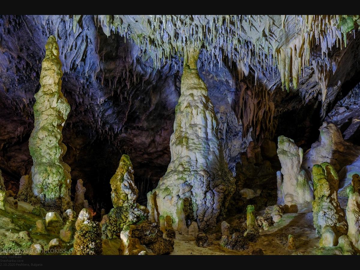 Маршрут по Болгарии. Пещера Снежанка
