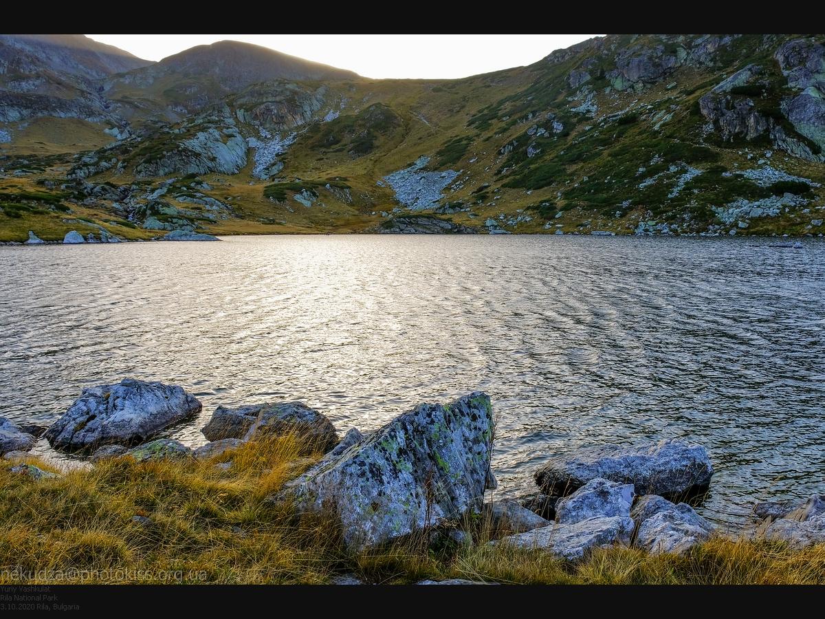 Семь Рильских озер. Озеро Рибното