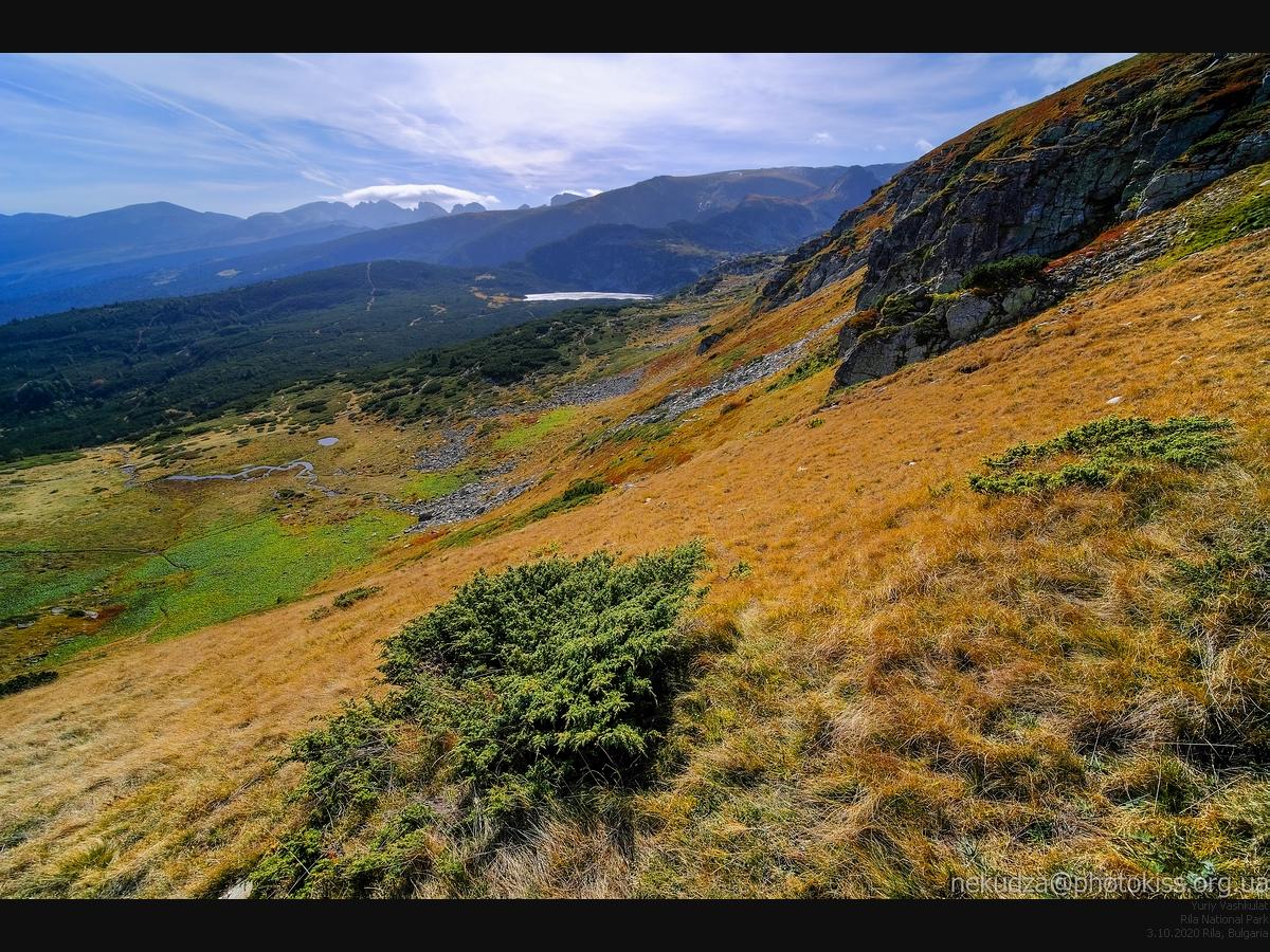Национальный парк Рила.