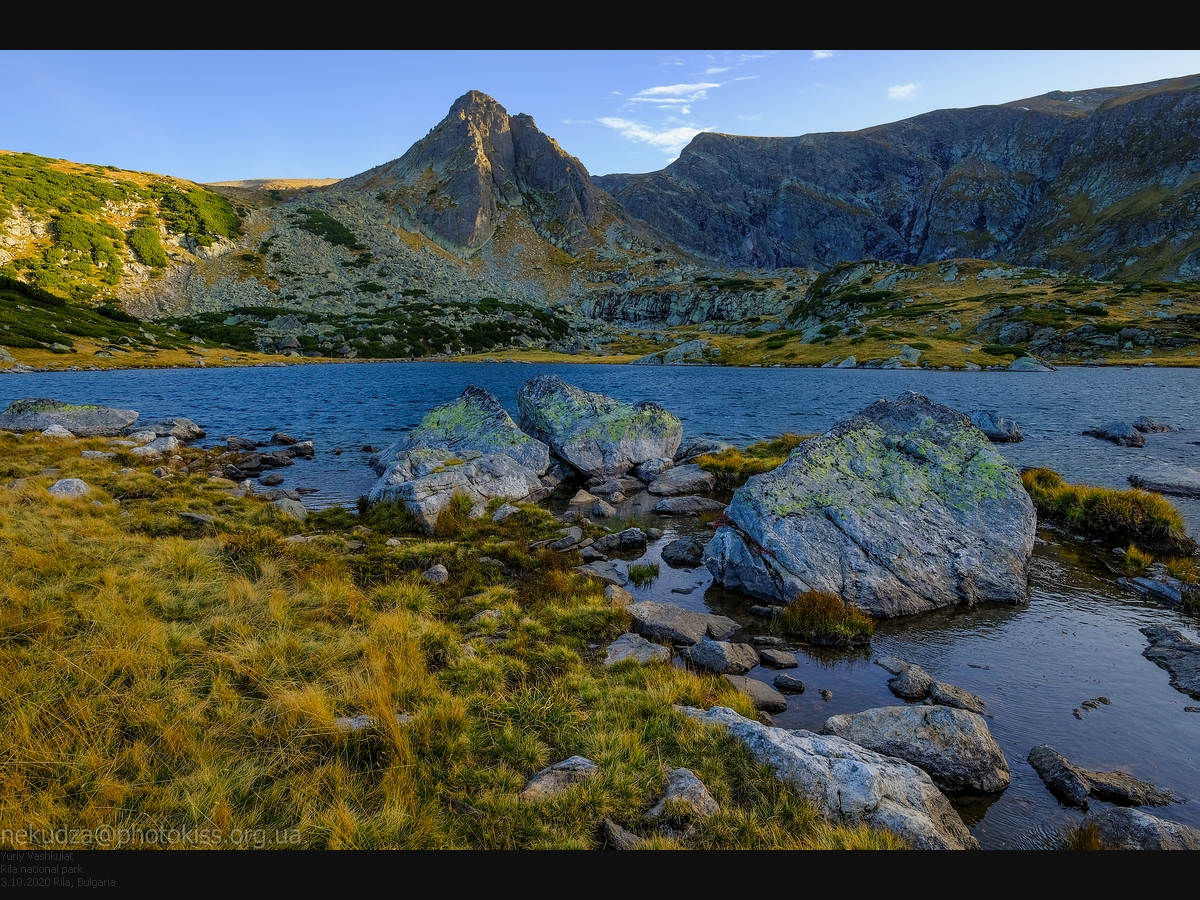 Семь Рильских озер. Озеро Трилистника