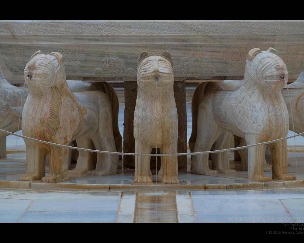 Альгамбра. Львиный дворик