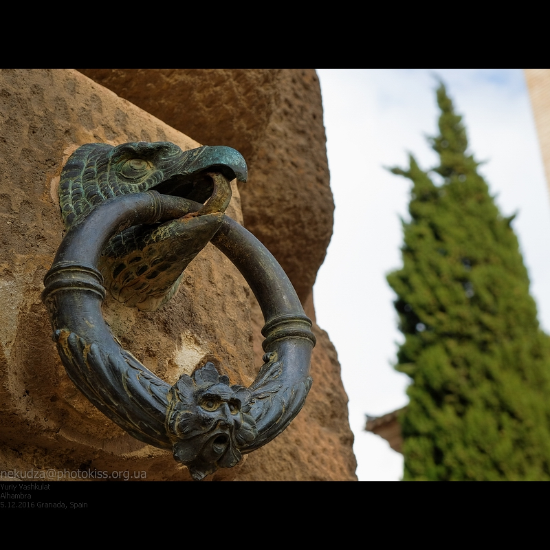 Альгамбра. Дрорец Карла V