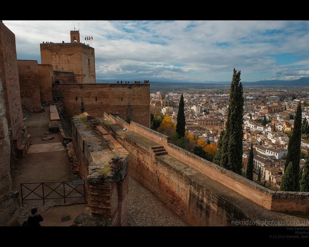 Альгамбра. Алькасаба