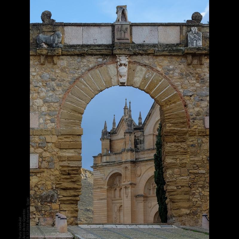 Крепость Алькасаба в Антекере