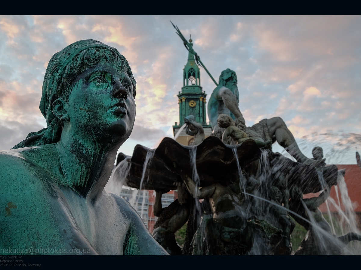 Берлин. Фонтан Нептуна