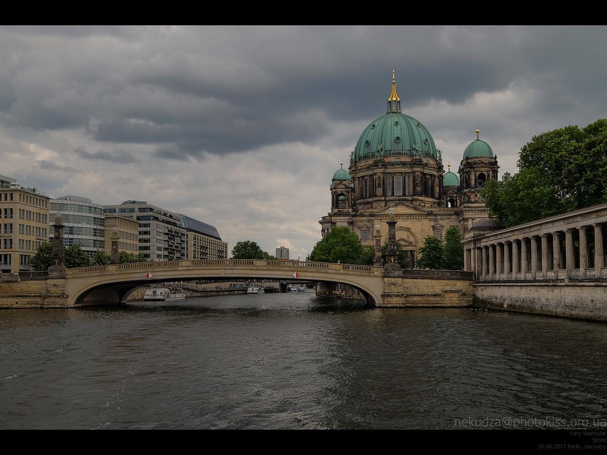 Шпрее и Берлинский собор