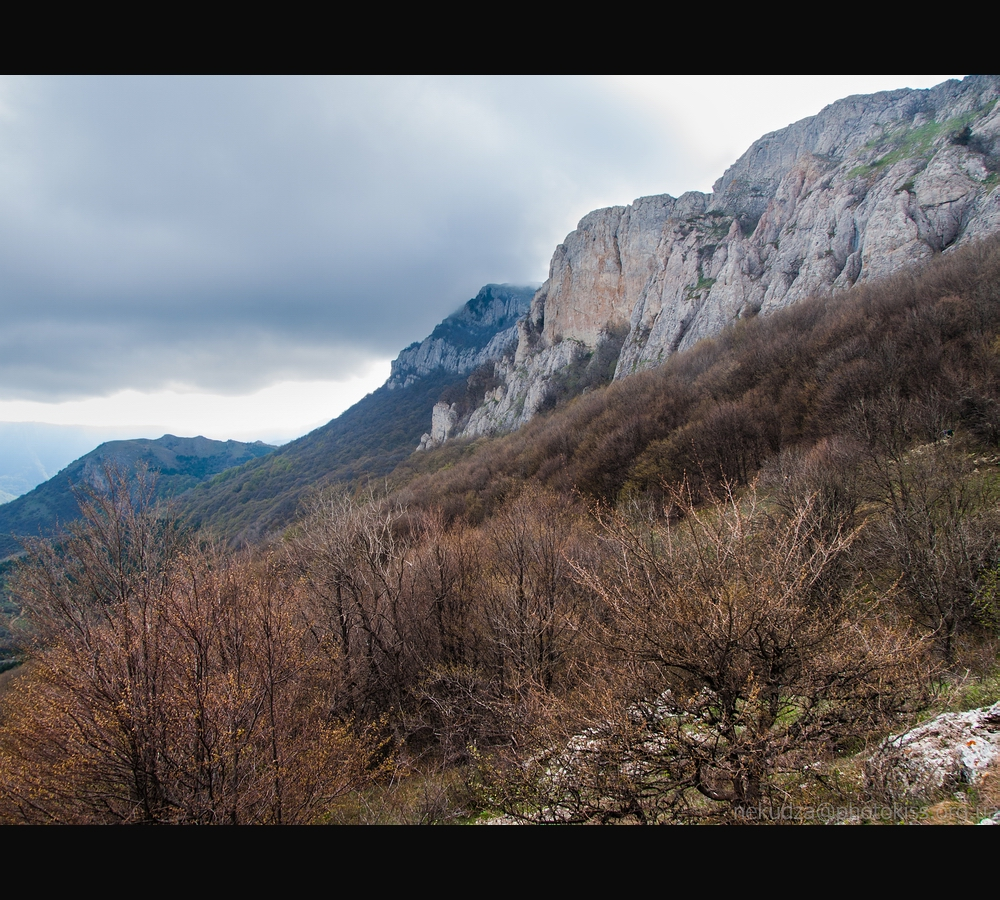 Фотографии Крыма: склоны Караби