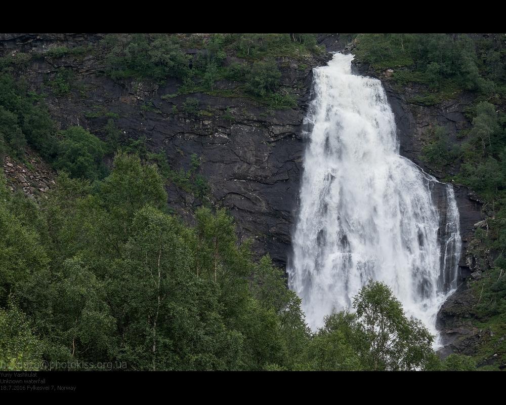 Водопады в Норвегии
