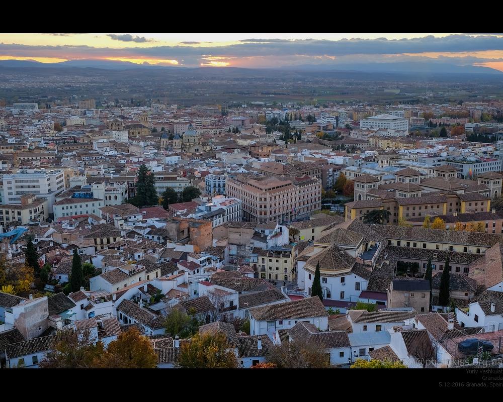 Вечерняя Гранада