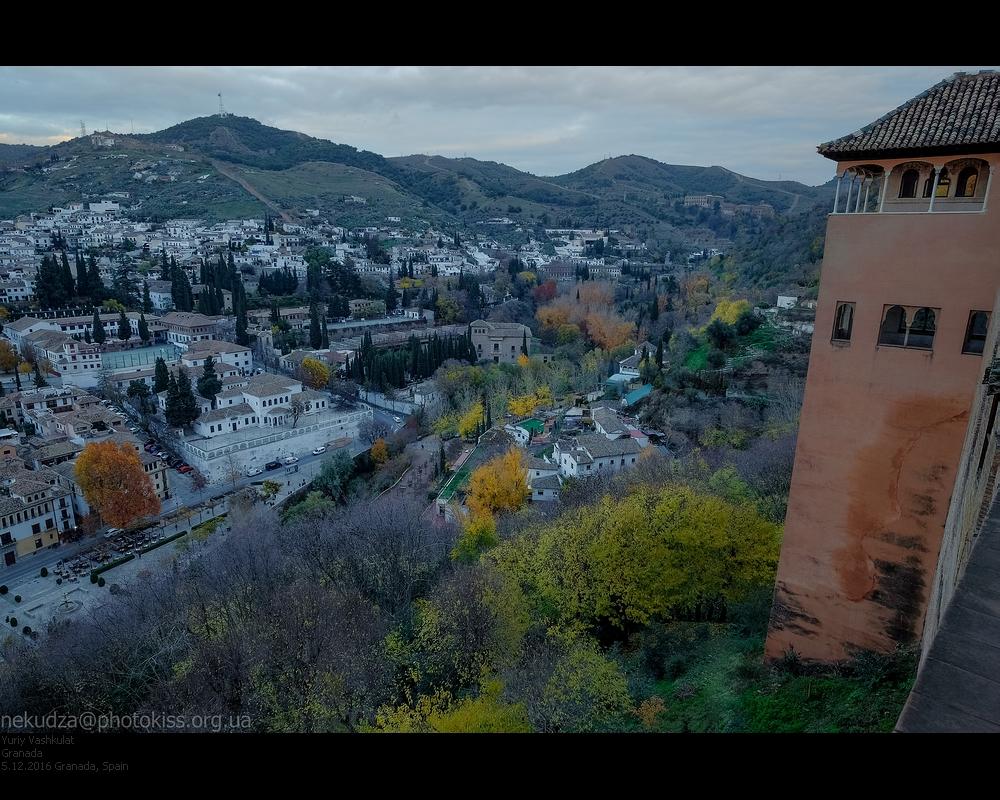 Вид на Альбайсин