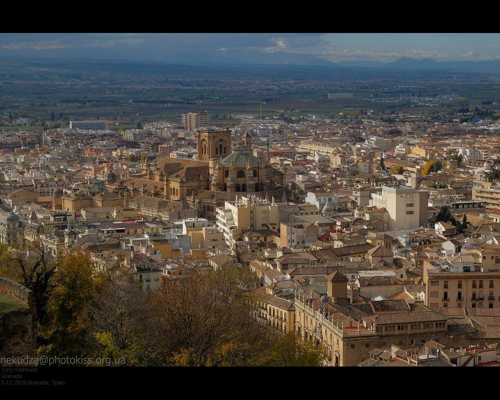 Вид с Альгамбры