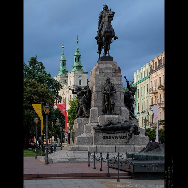 памятник Грюнвальдской битве
