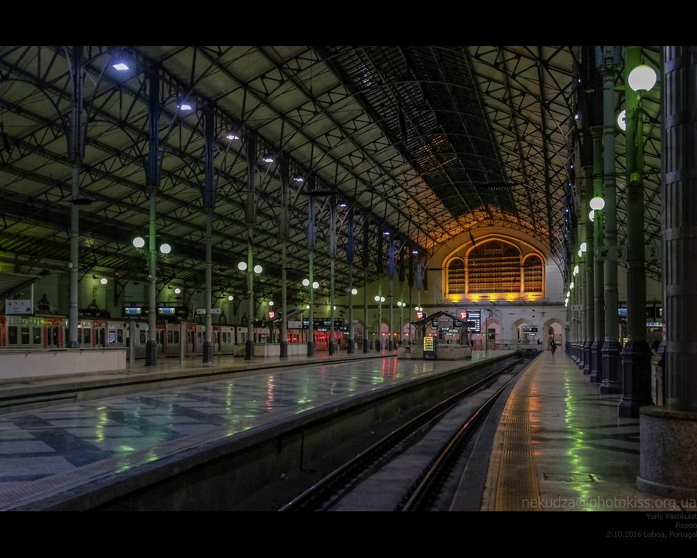 Лиссабон. Вокзал Россиу
