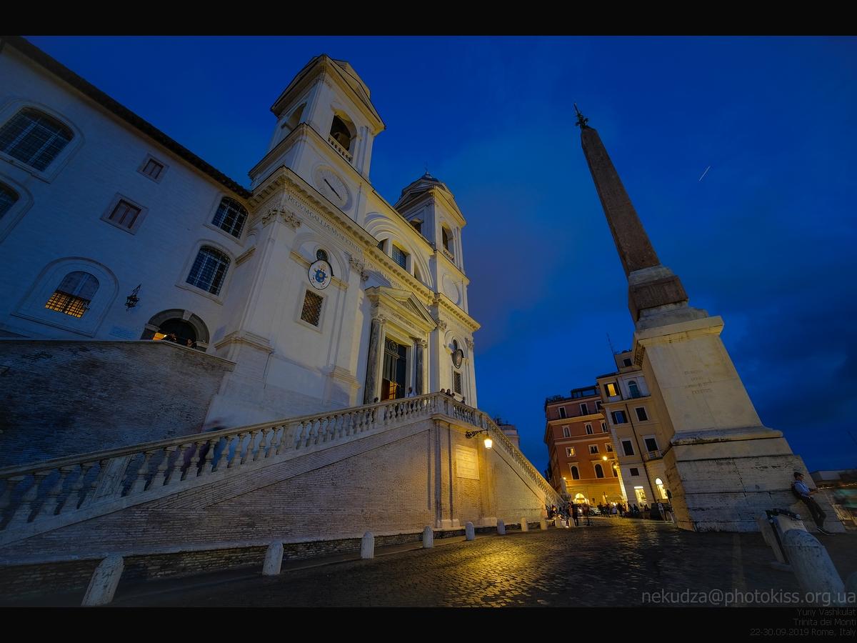 Тринита дель Монти, Рим, Италия