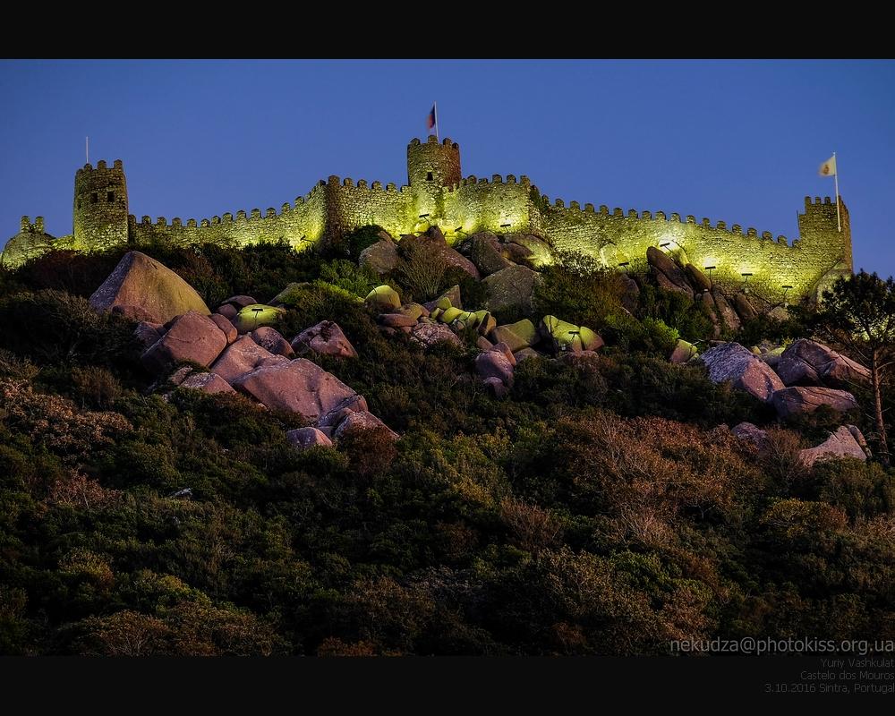 Синтра. Замок мавров