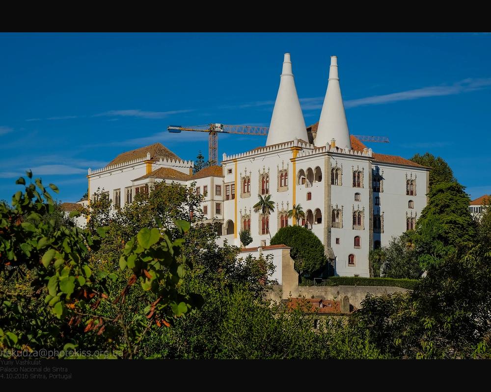 Королевский дворец в Синтре