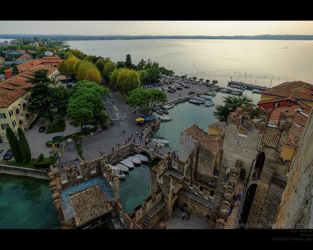 Сирмионе — замок Скалигеров