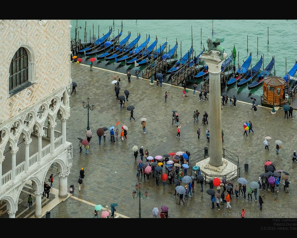 Фотографии Венеции. Вид с колокольни Сан-Марко