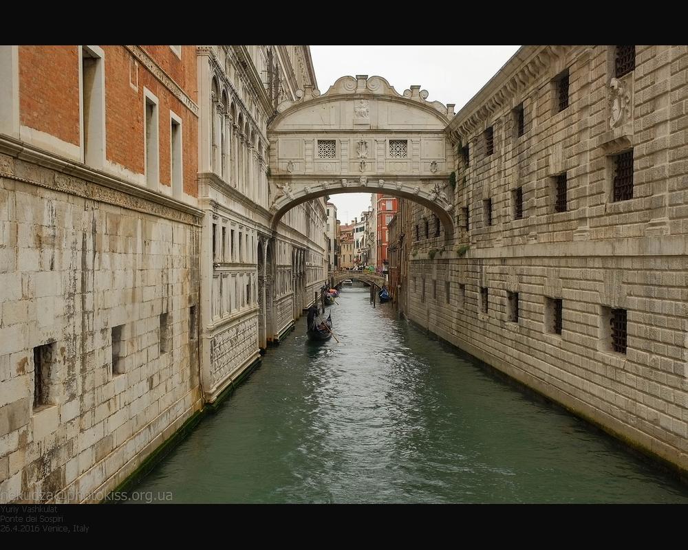 Фотографии Венеции. Мост вздохов