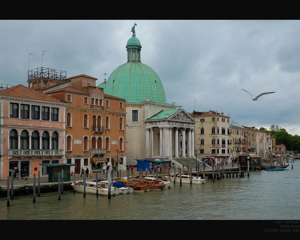 Фотографии Венеции. Санта Кроче
