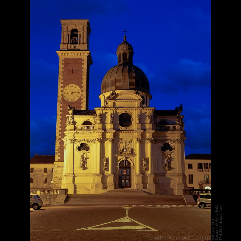 Санктуарий Монте Берико в Виченце