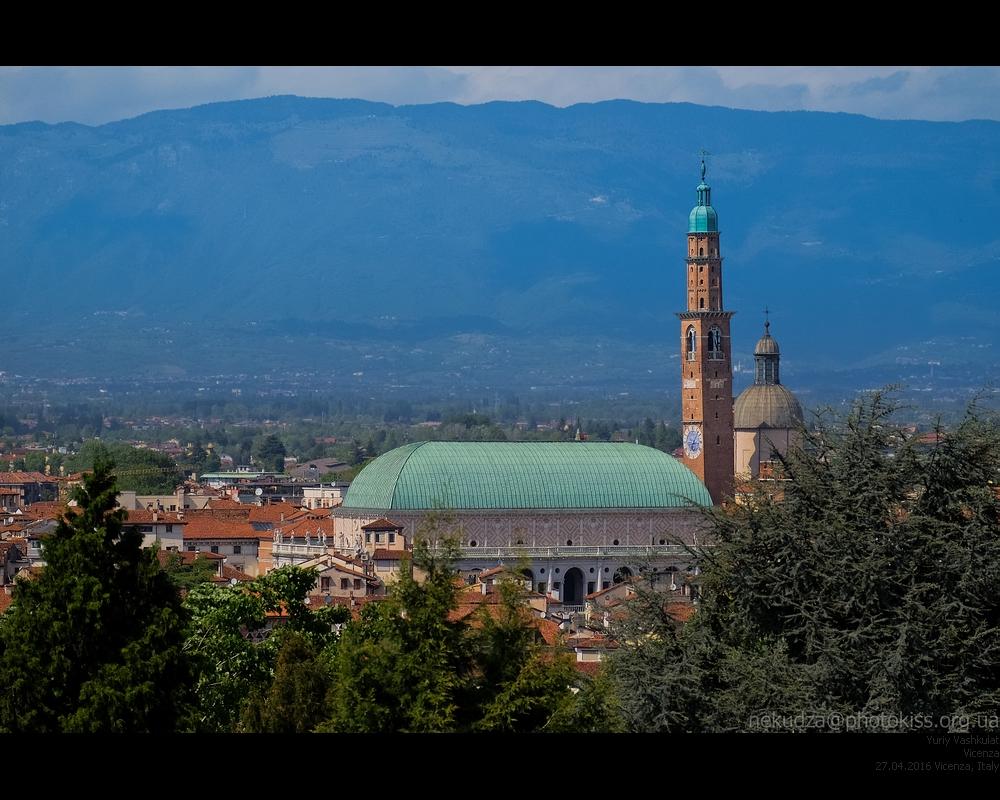 Вид на Виченцу с Монте Берико