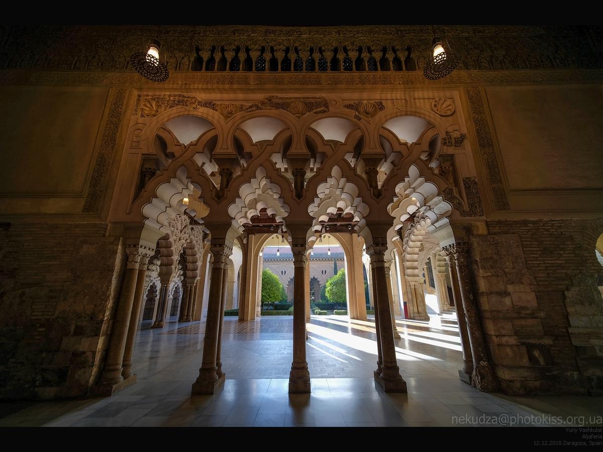 Дворец Альхаферия, Сарагоса, Испания