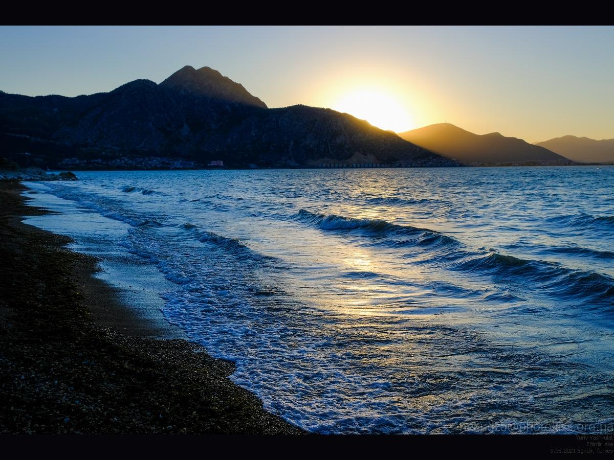 Машиной по Турции: Озеро Эгирдир