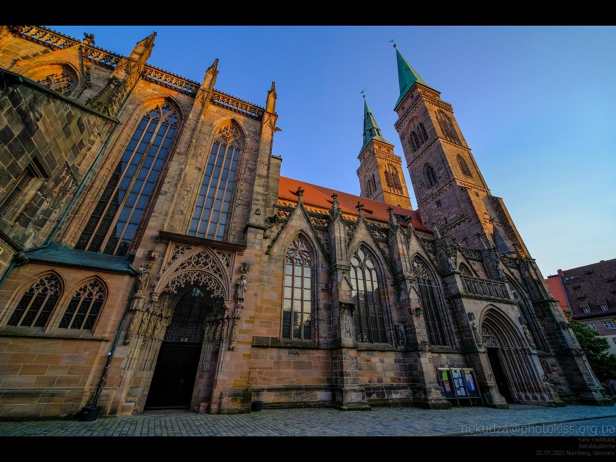 Собор святого Зебальда в Нюрнберге