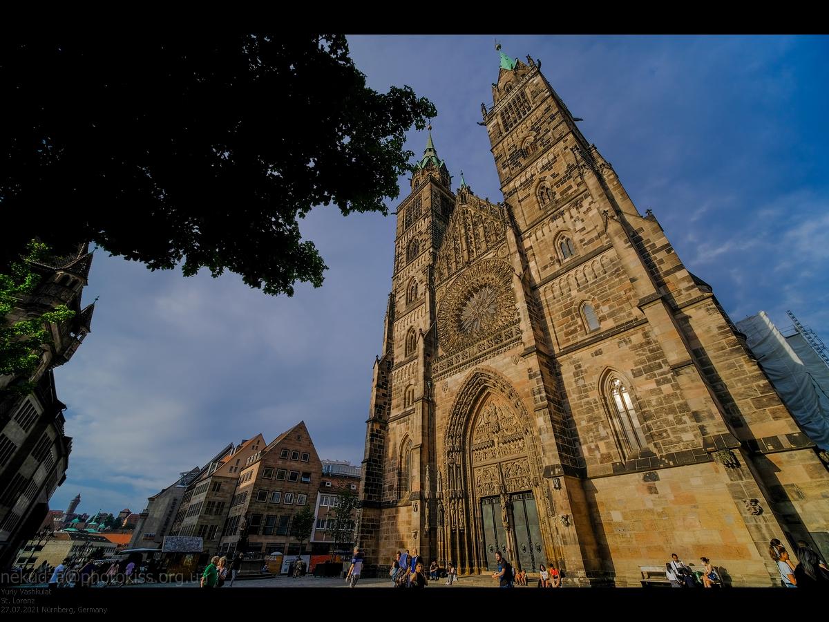 Церковь святого Лоренца в Нюрнберге